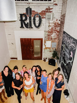 bachelorette party at Rio Pilates Yoga Studio in Halifax NS